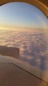 Die Schweiz unter dem Nebelmeer